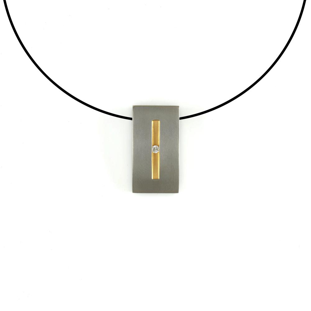 boccia titanium anh nger titan ohne kette oder. Black Bedroom Furniture Sets. Home Design Ideas